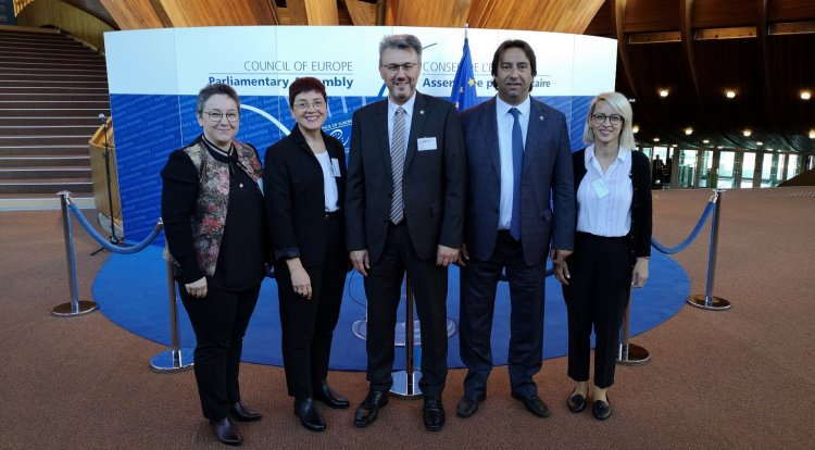 Working visit to Strasbourg by the delegation of Western Thrace Turks